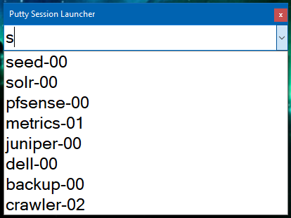 Launcher Window